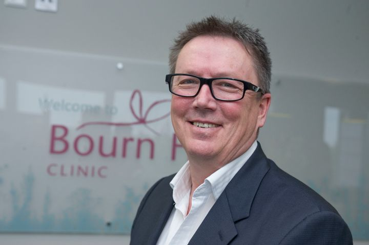 Dr Mike Macnamee from Bourn Hall private fertility clinic in Peterborough.