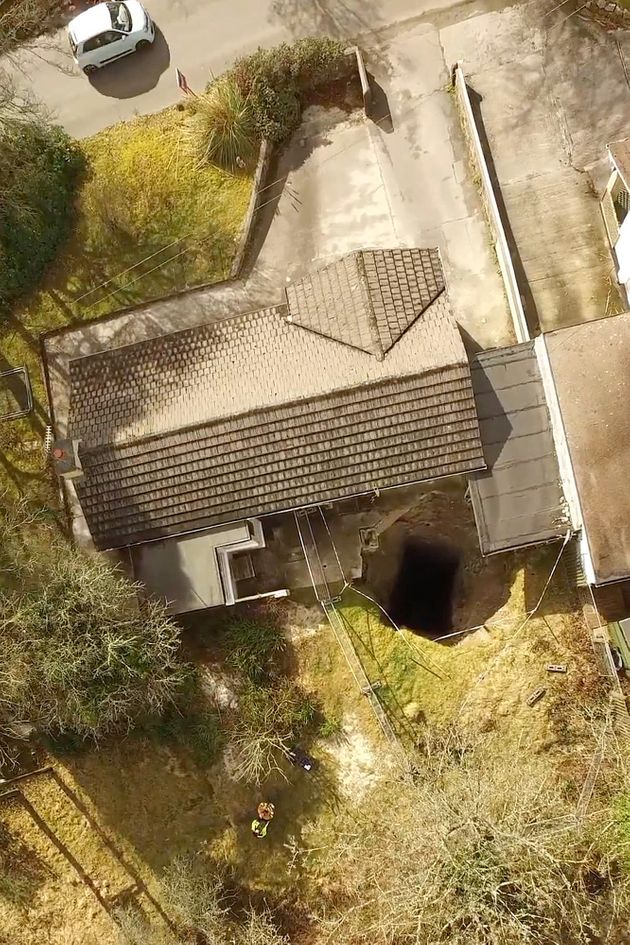 300ft Deep Mine Shaft Opens Just Yards From Cornwall