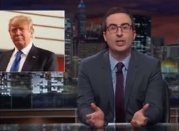 John Oliver Just Can't Stop Himself From Taking Down Donald Trump