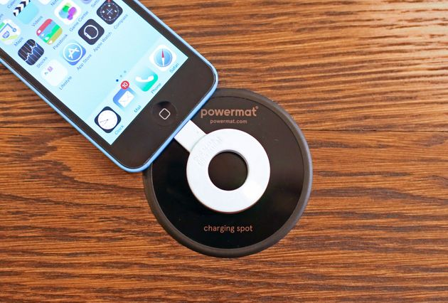 Starbucks gave the iPhone wireless charging capabilities in the form of a free dongle that would work...