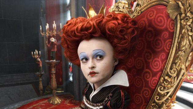 Helena Bonham Carter as the 'Red