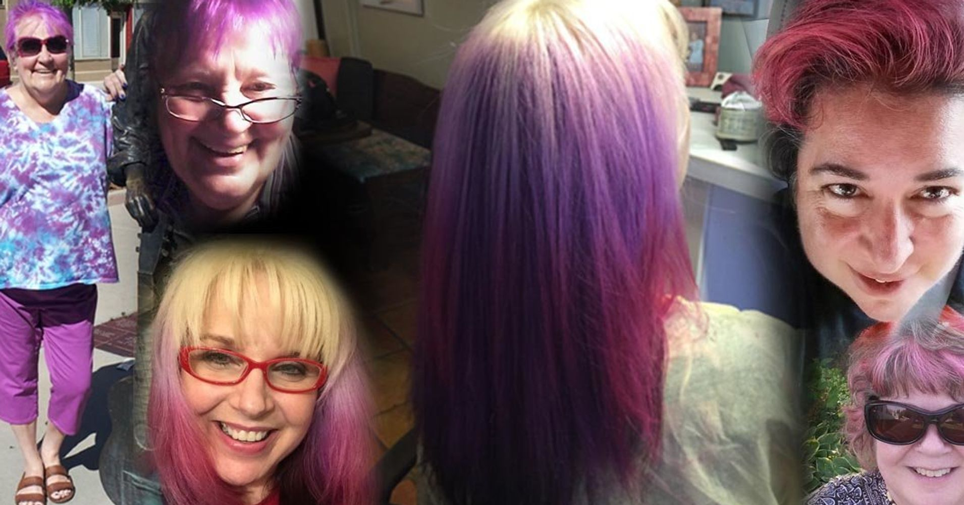 7 Women Over 50 On Why Theyre Dyeing Their Hair Crazy Colors Huffpost