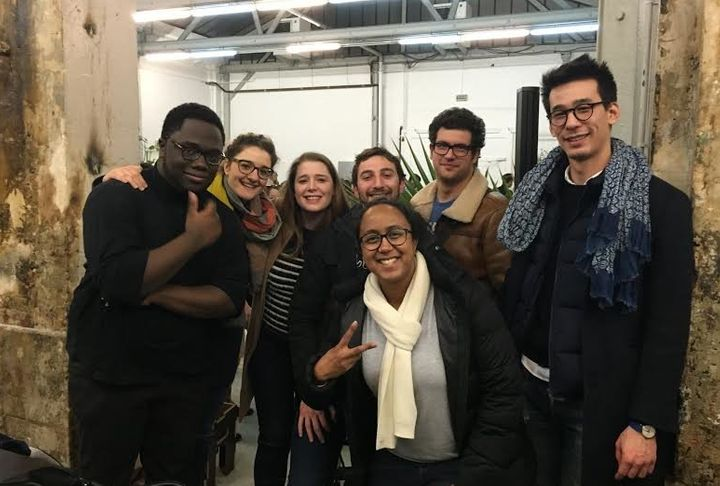 "The winning team from this weekend's Paris hackathon came up with a platform called ""Textfugees."""