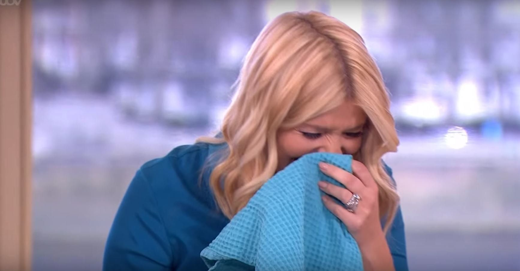 Sexual Innuendo Sets Holly Off AGAIN On 'This Morning'