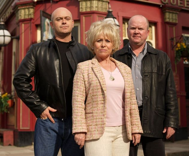 Ross is set to return as Grant Mitchell alongside mum Peggy (Barbra Windsor) and brother Phil (Steve