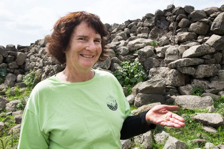 Hiking veteran Laurie Rimon made an amazing discovery while on a trip in northern Israel's Galilee region earlier this m