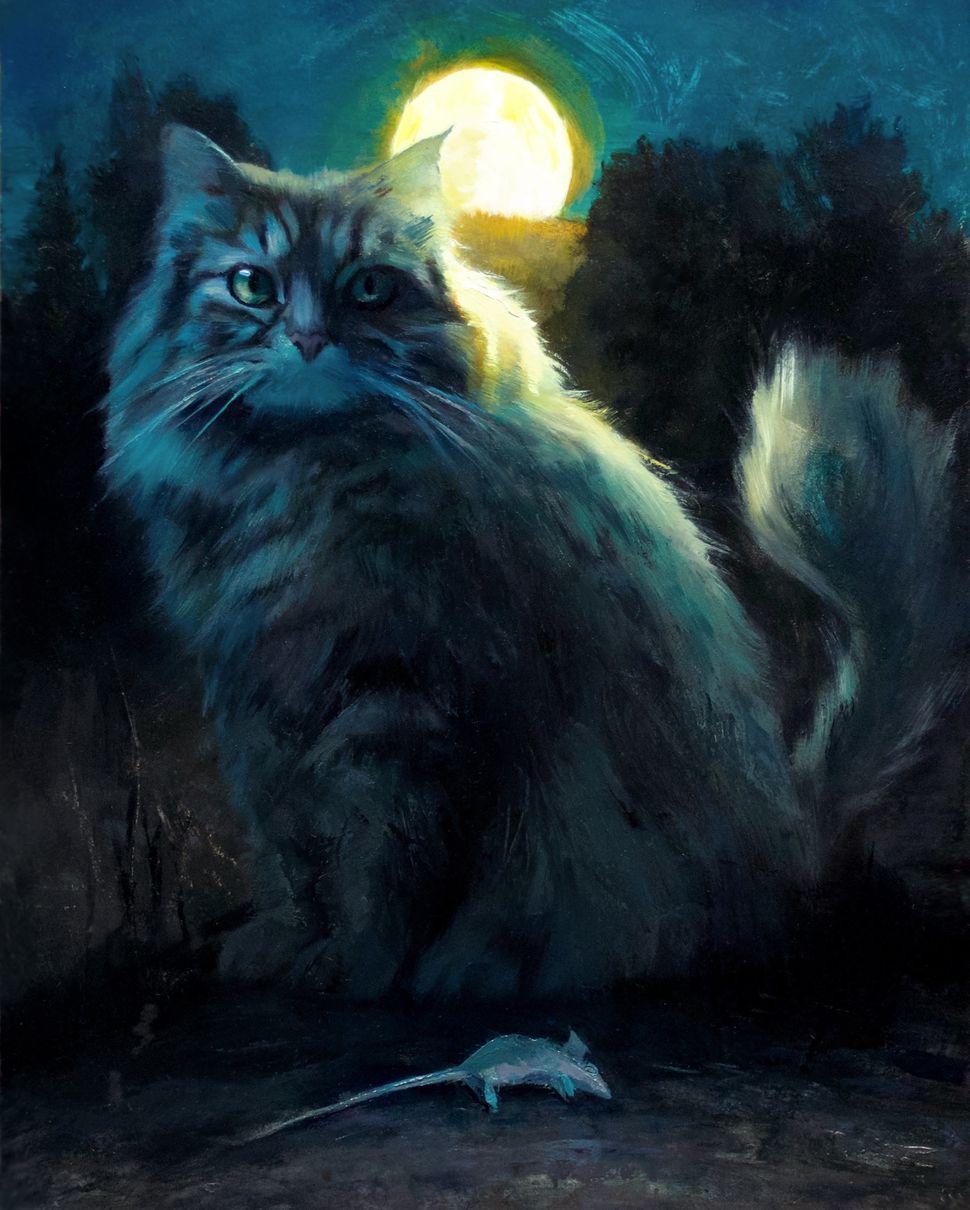 Mouse Hour (Maine Coon Moon)