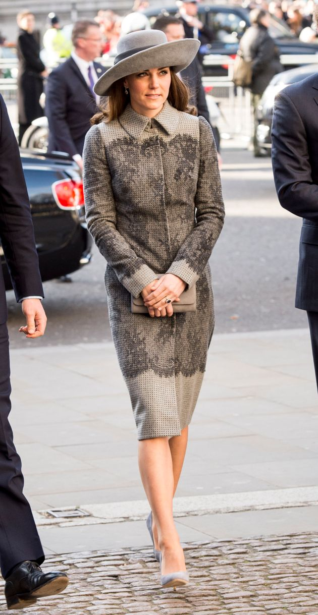 Duchess Of Cambridge Chooses Princess Diana's Hat