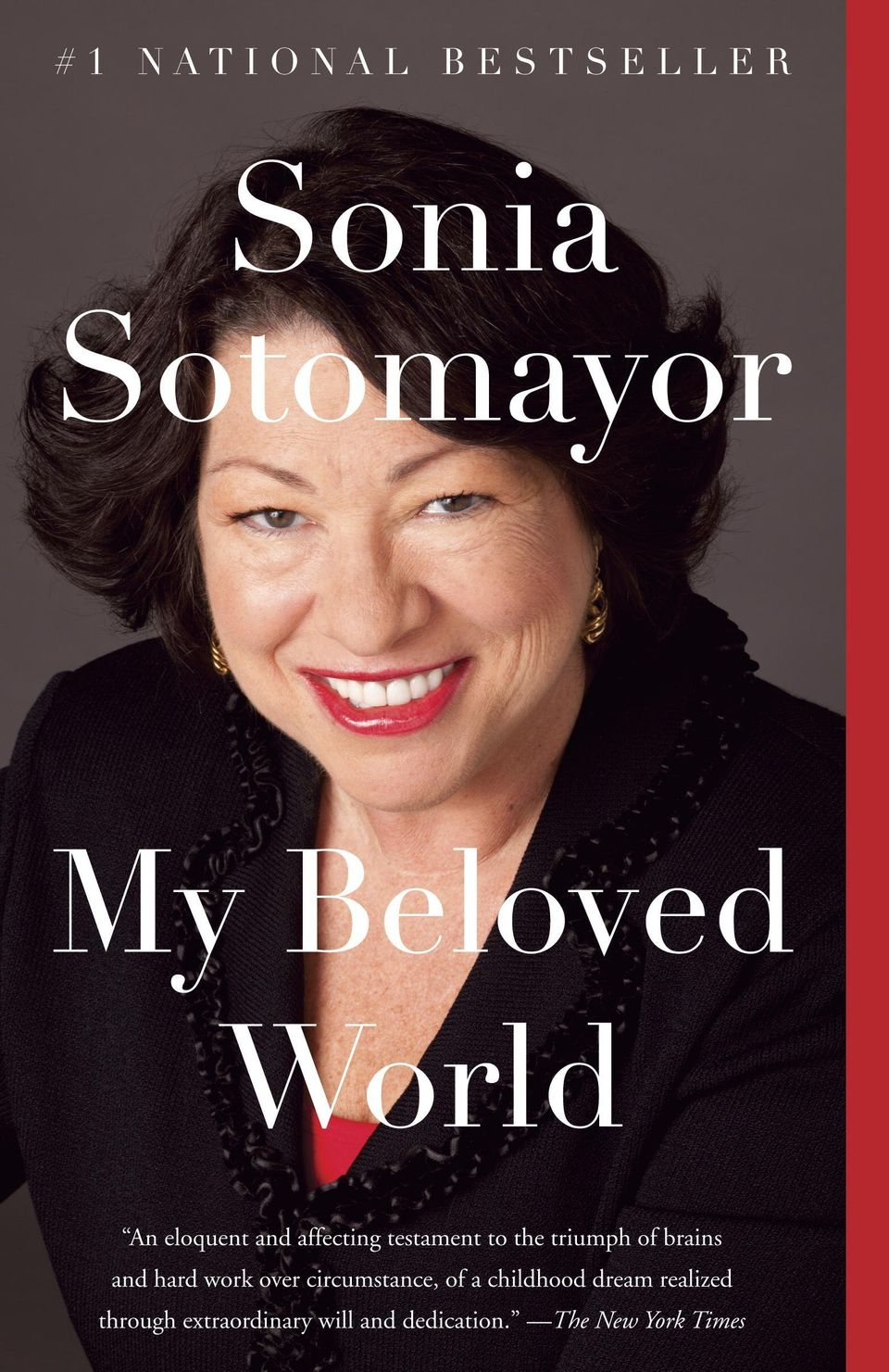 """Those who remember the stilted Sotomayor confirmation hearings will learn from this book that the real Sonia Sotomayor is a"