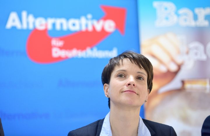 Frauke Petry, 40, is the new face of the Alternative for Germany party. Earlier this year, she suggested that&nbsp;police <a