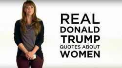 Women Read Out Real Sexist Donald Trump