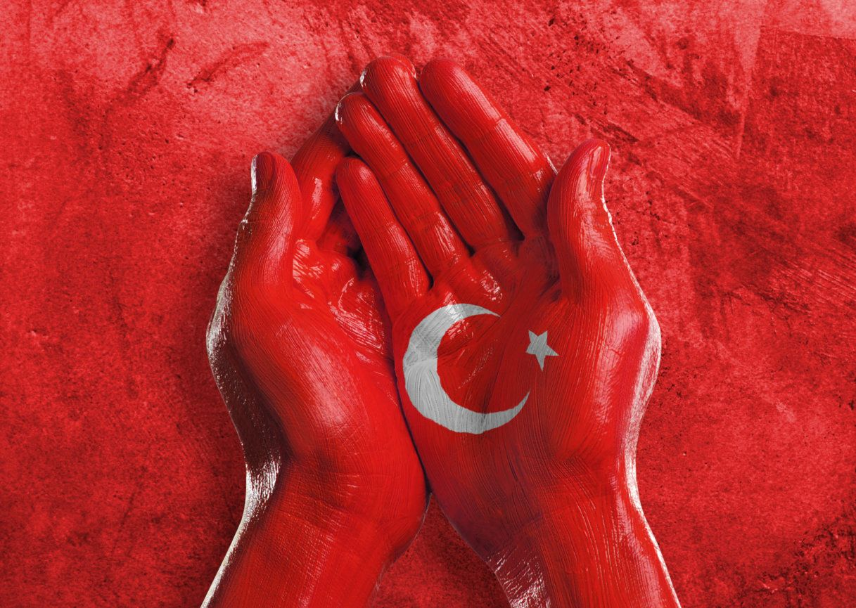 nation, nationality, patriotism, support, turkey, turkish, Republic of Turkey, turk, ankara, lira, government, politics, country, flag, hand, painted, natural, citizenship, peace, world, united, culture, identity, football, one person, creative, concept, vote, elections, charity, hand sign