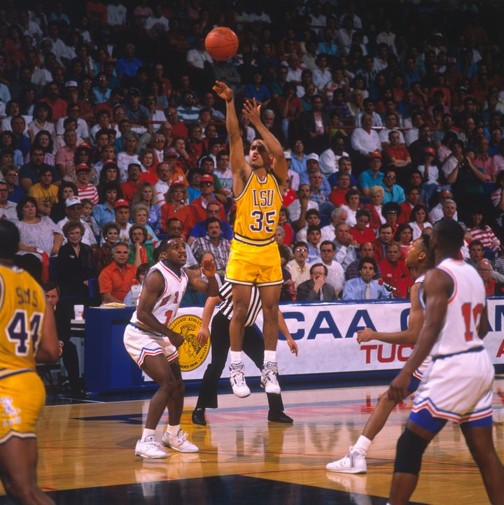 At LSU, Abdul-Rauf -- then known as Chris Jackson -- was one of the most dynamic scorers in college basketball history. His 3