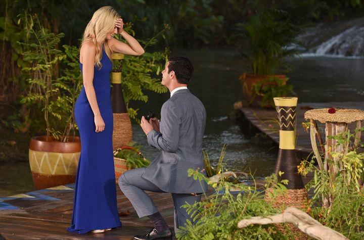 Ben Higgins: An engaged man -- to the lovely Lauren B..