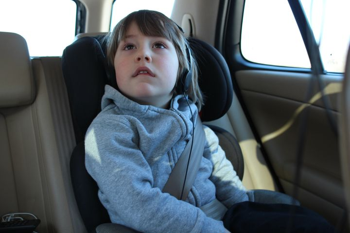 One third of eight to 11-year-olds were not travelling in a booster seat