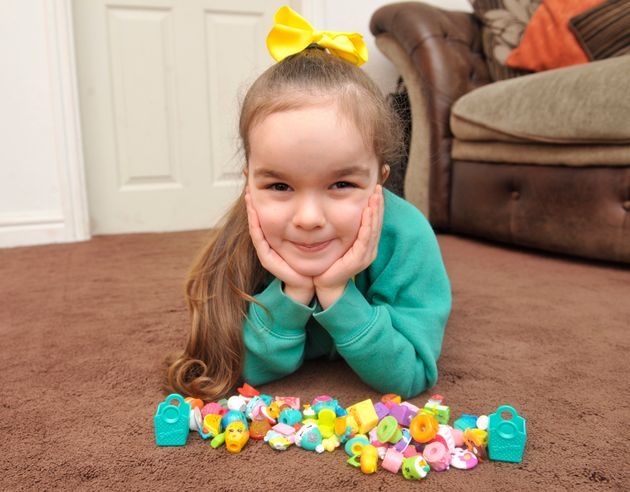 Girl's Shopkins Toy Bought For £2.50 Turns Out To Be Rare Collectable And Sells For More Than