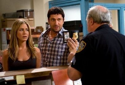 Jennifer Aniston with Gerard Butler in 'The Bounty