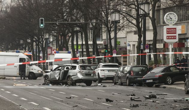 Suspected Car Bomb Kills Driver In Central