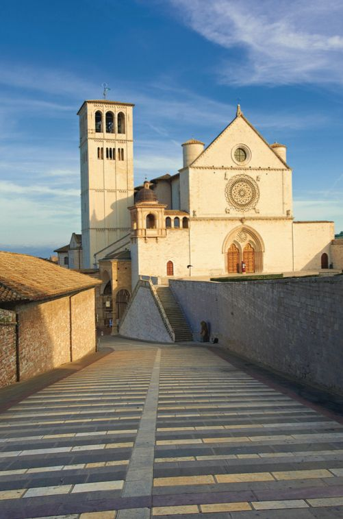 Assisi's street view.