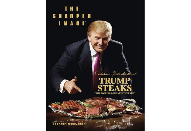 トランプ氏はステーキにケチャップをつけて食べるって Twitterの反応は?