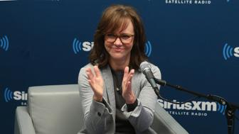 NEW YORK, NY - MARCH 14:  Actress Sally Field takes part in SiriusXM's 'Town Hall' hosted by Editorial Director at PEOPLE and EW, Jess Cagle at the SiriusXM Studios on March 14, 2016 in New York City.  (Photo by Cindy Ord/Getty Images for SiriusXM)