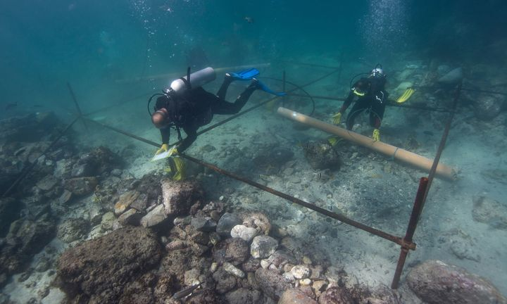 Archeologists discover a 500-year-old shipwreck off the coast of Oman.