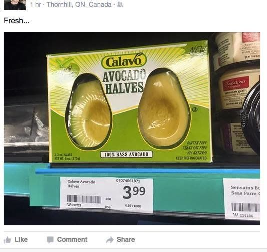 Peeled Avocado Halves Are The Convenience Food You Never