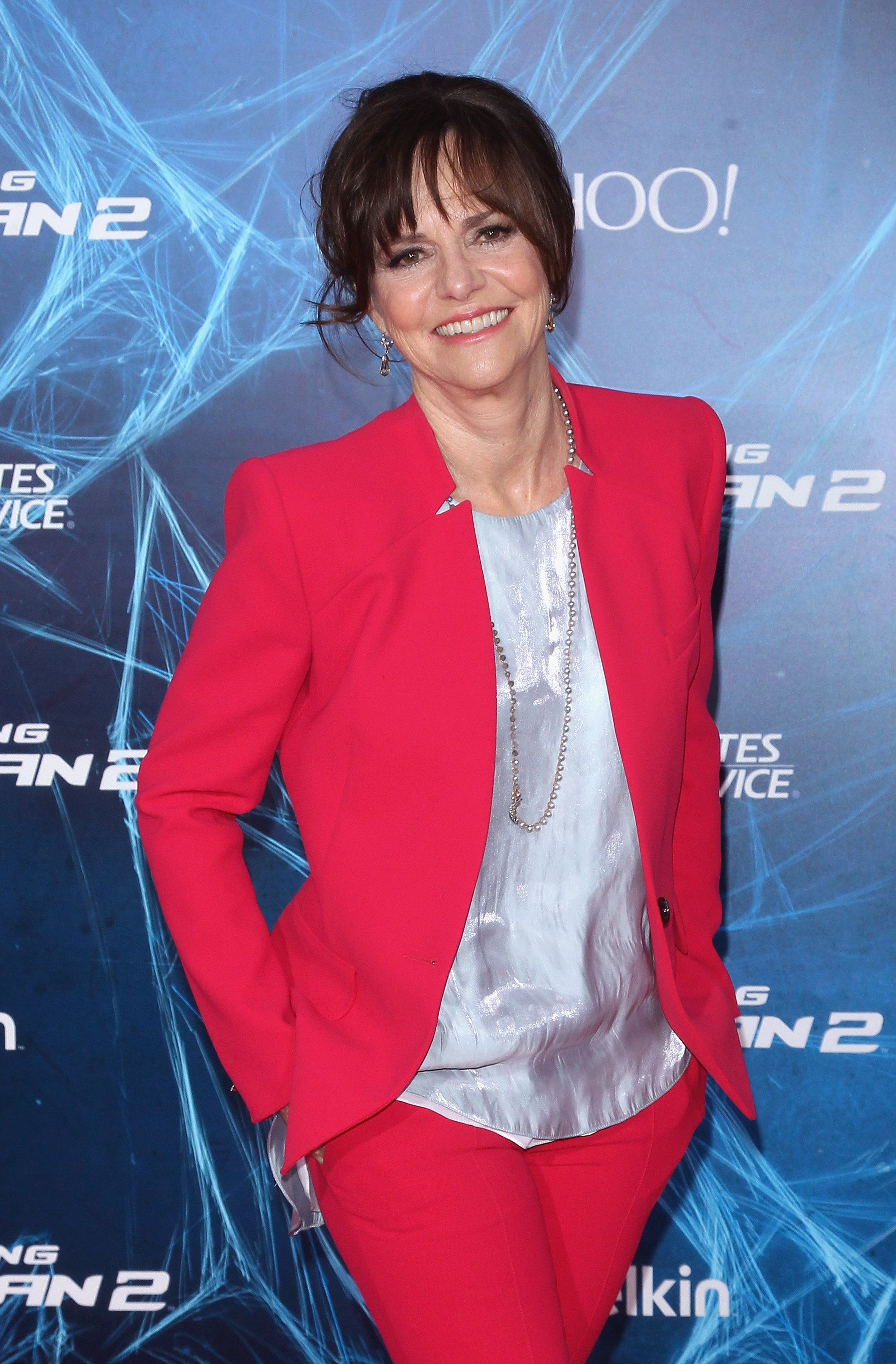 Sally Field atthe 'The Amazing Spider-Man 2' New York Premiere on April 24, 2014, in New York City.