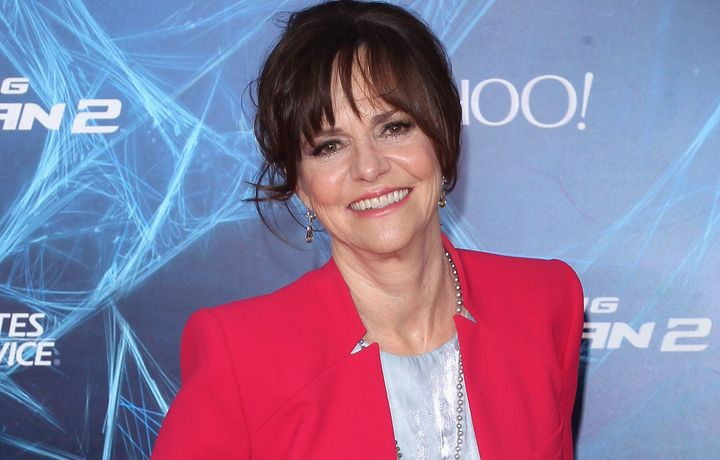 Sally Field at the 'The Amazing Spider-Man 2' New York Premiere on April 24, 2014, in New York City.