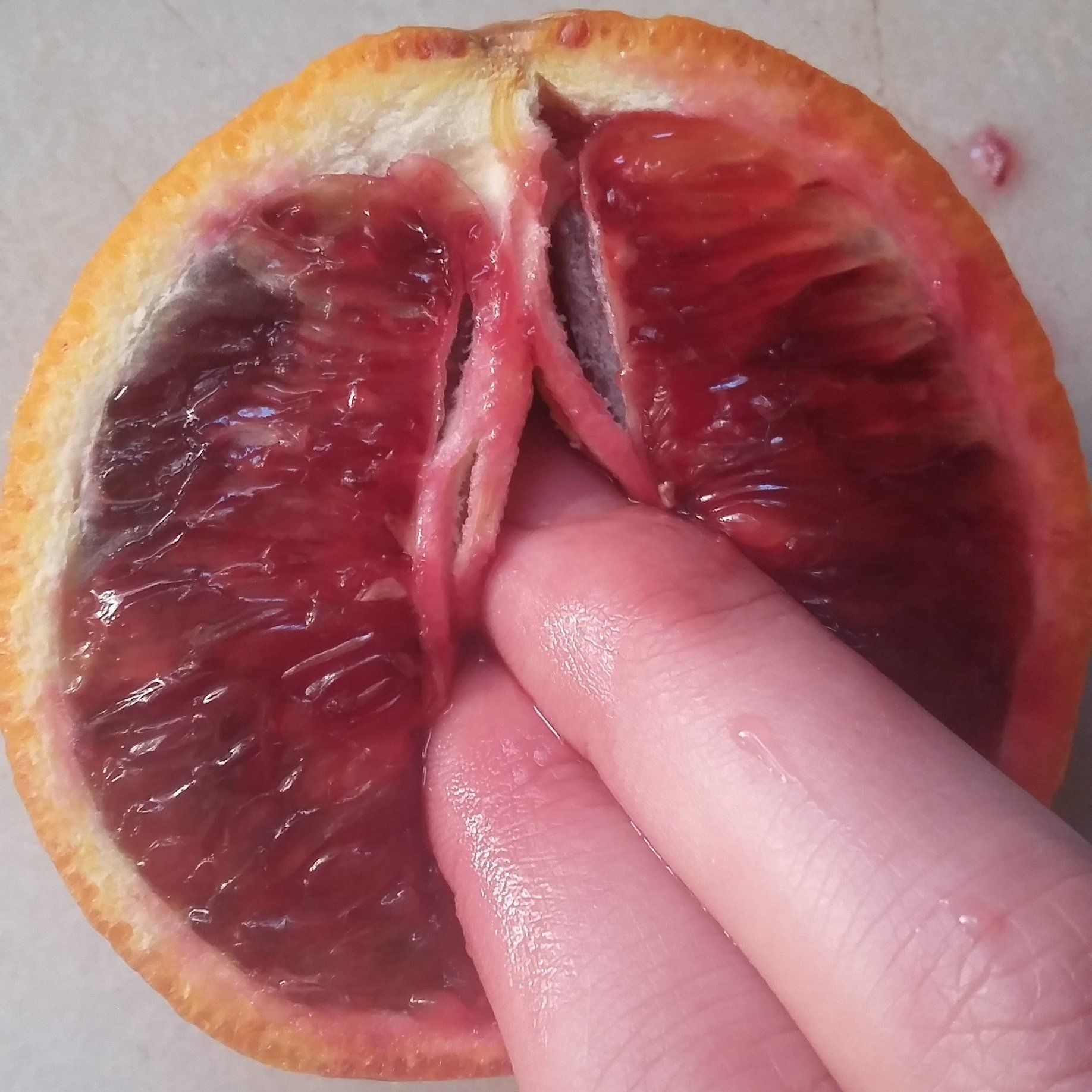 Fruit of the vulva