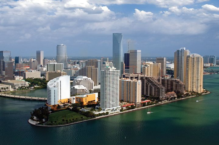 Miami-Dade County, Florida, has more people living less than 4 feet above sea level than any U.S. state, except Louisiana.&nb