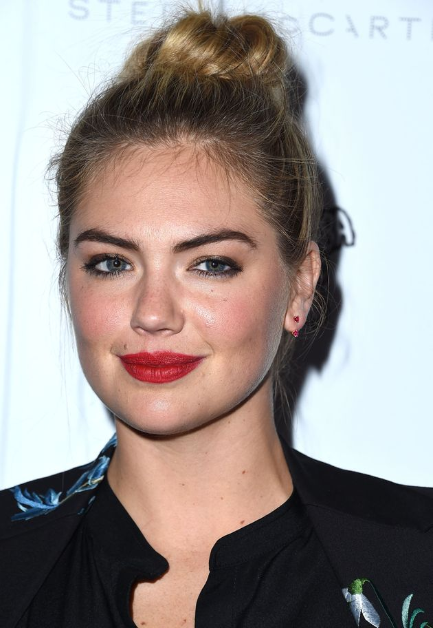 Model Kate Upton also had private material