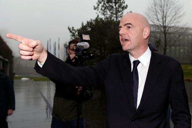 New Fifa president Gianni