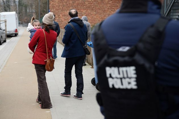People living in the otherwise quiet neighborhood of Brussels' Forest suburb suffered hours of lockdown....