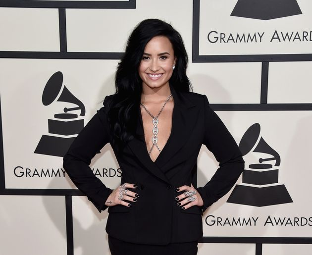 Demi Lovato attends The 58th GRAMMY Awards at Staples Center on February 15, 2016 in Los Angeles,