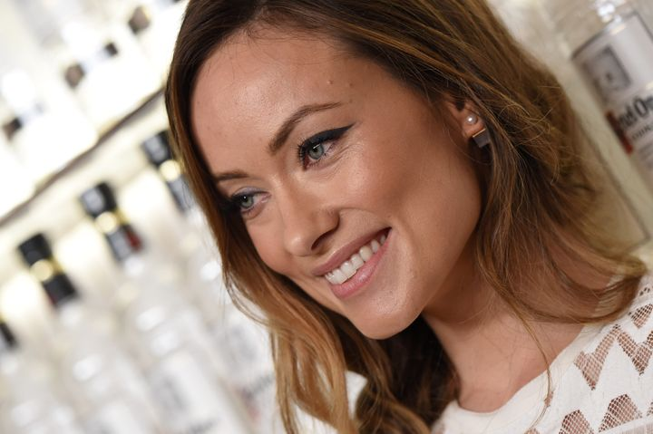 "Olivia Wilde, clearly ""too old"" to play the wife of a 38-year-old Leonardo DiCaprio."