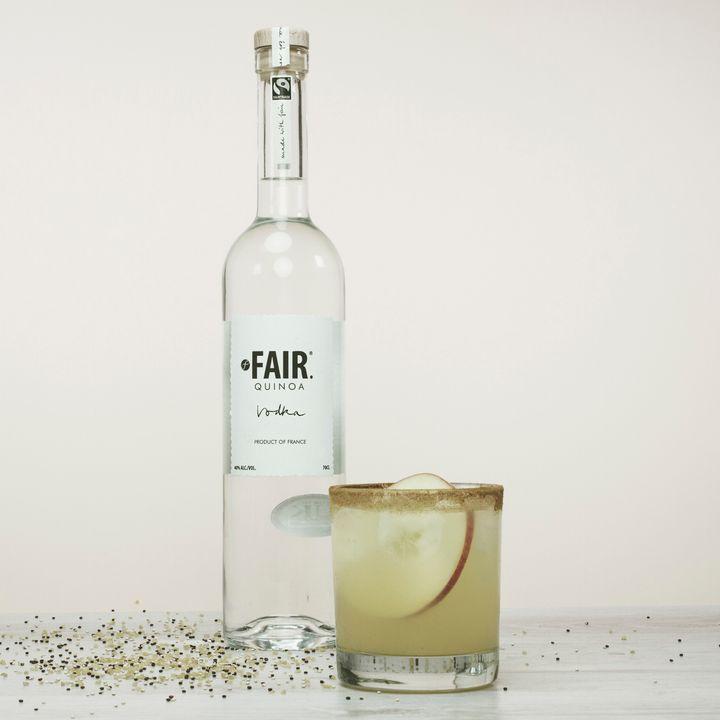 Quinoa vodka, heading to a hipster bar near you.