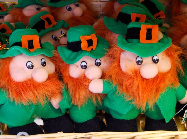 If you manage to catch a leprechaun, never take your eye off him or he will vanish. For its freedom, a captured leprechaun wi