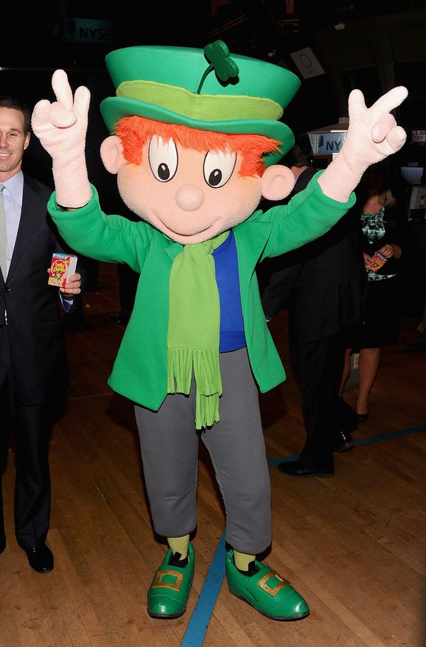 The most famous leprechaun might be Lucky, the mascot of Lucky Charms cereal. He has appeared in commercials since 1963.