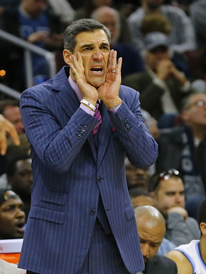 Jay Wright's 1 seeded-Wildcats failed to make it out of the first weekend last year.