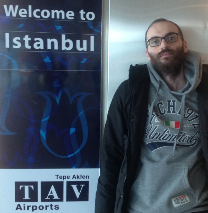 Fadi Mansour has been detained in a Turkish airport for more than one year. The reason behind his detention has no legal basi