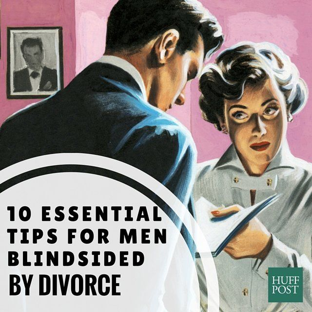 Divorce tips for men