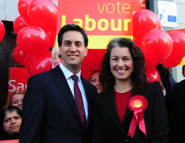 Champion, who made her comments today, with ex-Labour leader Ed