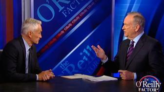 Jorge Ramos and Bill O'Reilly