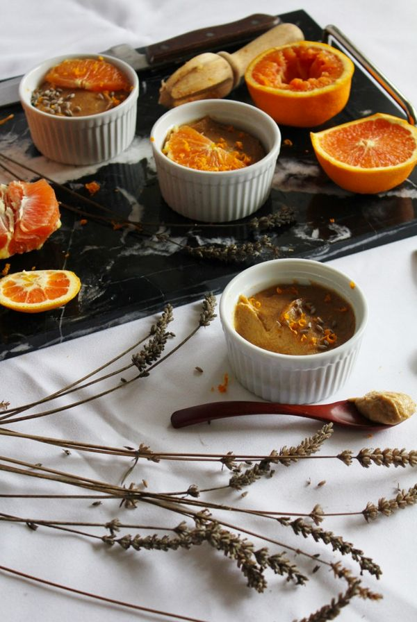 "Get the <a href=""http://www.thisrawsomeveganlife.com/2013/03/orange-lavender-pudding.html#.VuooAxIrKHo"" target=""_blank"">Orang"