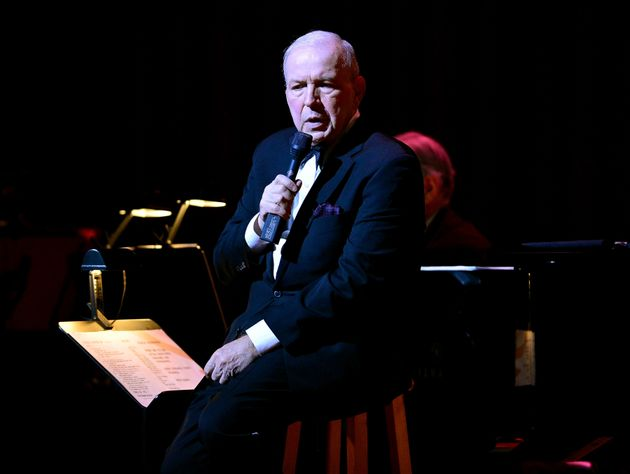 Frank Sinatra Jr. performing at the Sinatra Sings Sinatra concert on March
