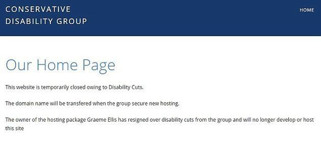 The Tory group's websiteon