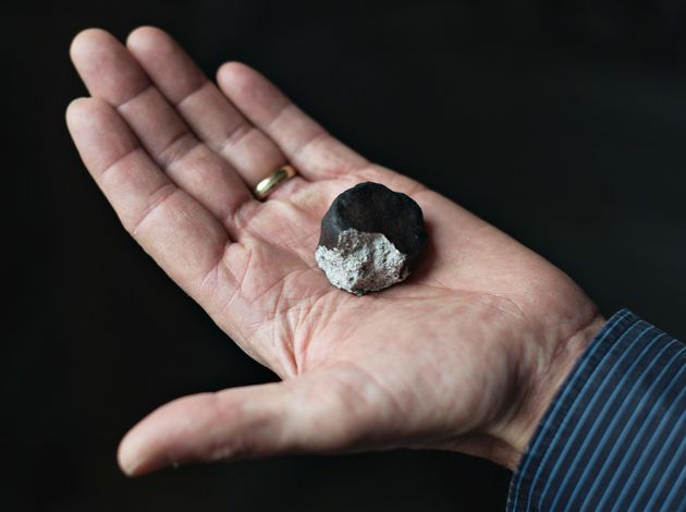 This is a fragment ofMeteorite that on February 6 flew over
