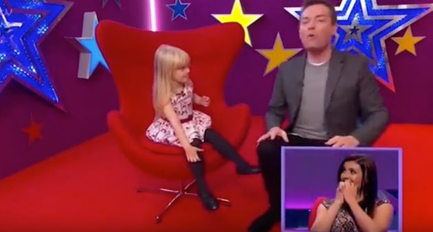 Kym Marsh Left Cringing On TV After Daughter Polly's 'Boobies' Admission On 'Big Star's Little
