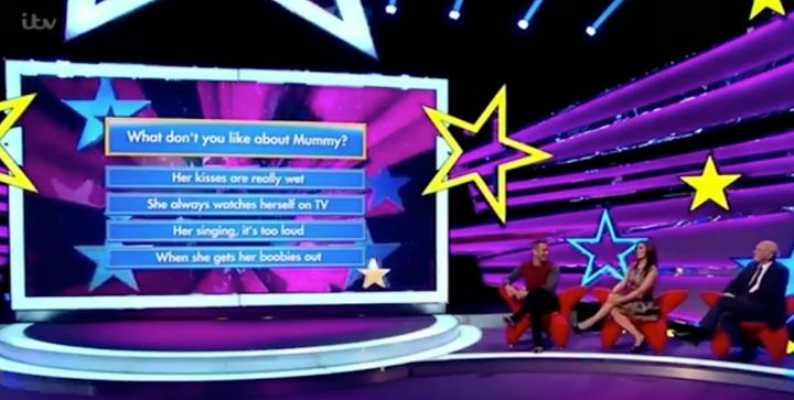 It didn't take Kym Marsh long to answer the question